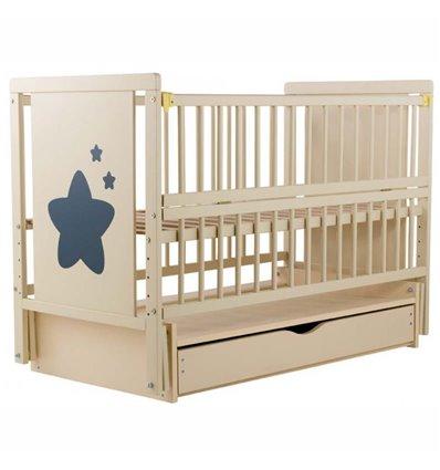 Дитяче ліжечко Дубик-М Зіронька слонова кістка