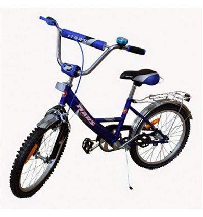 Велосипед двоколісний Mars 16 синій/чорний