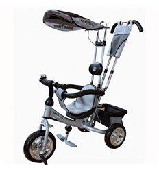 Велосипед триколісний Mars Mini Trike сріблястий