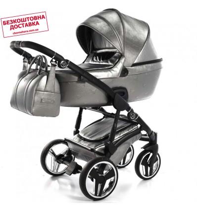 Дитяча коляска 2 в 1 Junama Thermo 03 Smoke Silver
