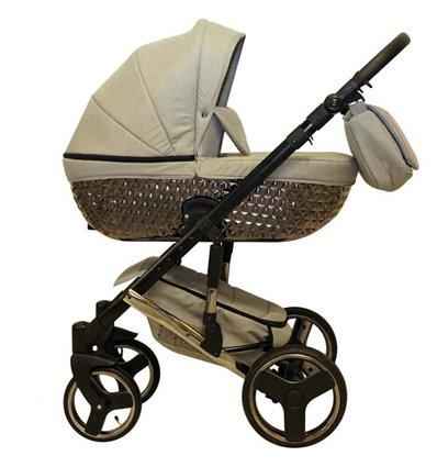 Дитяча коляска 2 в 1 Mikrus Specchio 08 Grey