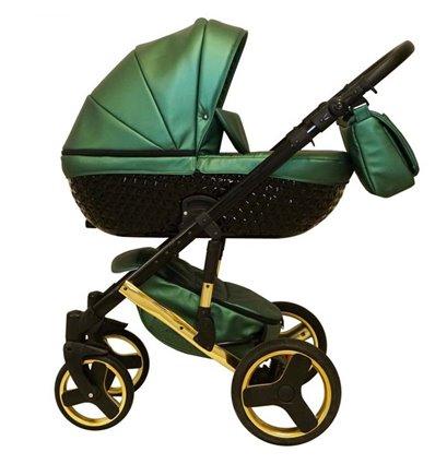 Дитяча коляска 2 в 1 Mikrus Specchio 41 Green