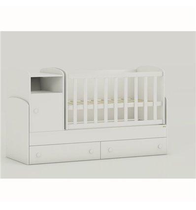 Дитяче ліжко-трансформер Oris Marica білий