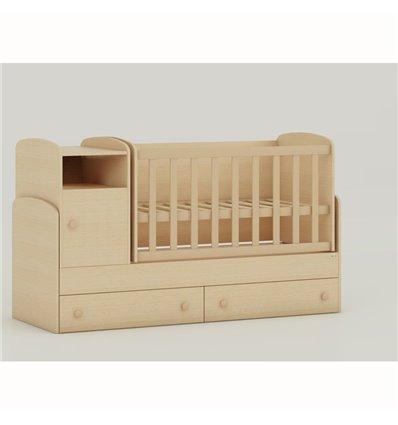 Дитяче ліжко-трансформер Oris Marica сосна лореда світлий венге