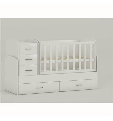 Дитяче ліжко-трансформер Oris Maya білий