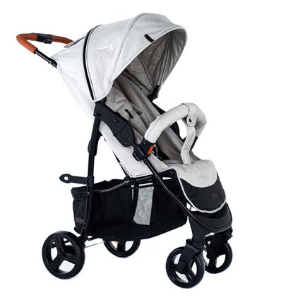 Дитяча прогулянкова коляска BubaGo Model 2 Beige