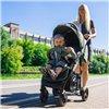Дитяча прогулянкова коляска BubaGo Model 2 Blue