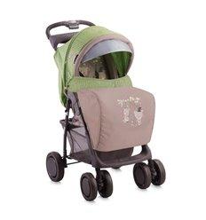 Дитяча прогулянкова коляска Bertoni Foxy Beige Green Bears