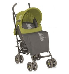 Дитяча прогулянкова коляска Bertoni Fiesta Beige Green Beloved