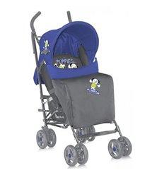 Дитяча прогулянкова коляска Bertoni Fiesta Blue Grey Puppies