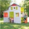Дитячий будиночок зі столиком і парканом Smoby Neo Friends 810203