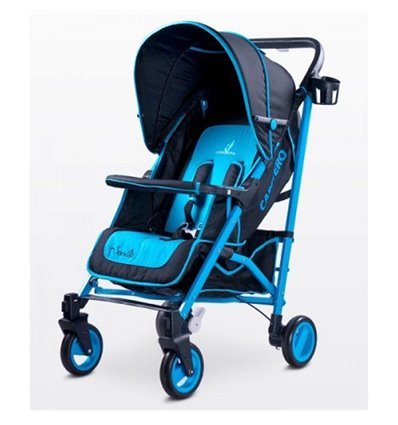 Дитяча прогулянкова коляска Caretero Sonata Blue