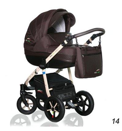Дитяча коляска 3 в 1 Verdi Pepe Eco 14 Mocca