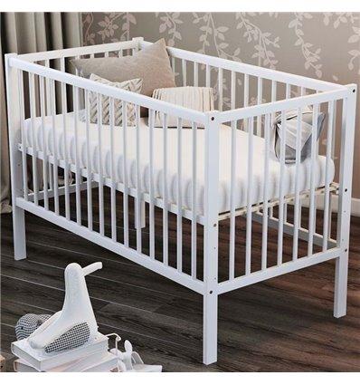 Дитяче ліжечко Дубик-М Малютка біле