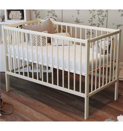 Дитяче ліжечко Дубик-М Малютка слонова кістка