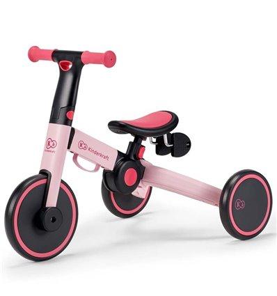 Велосипед триколісний Kinderkraft 4Trike 3 в 1 candy pink